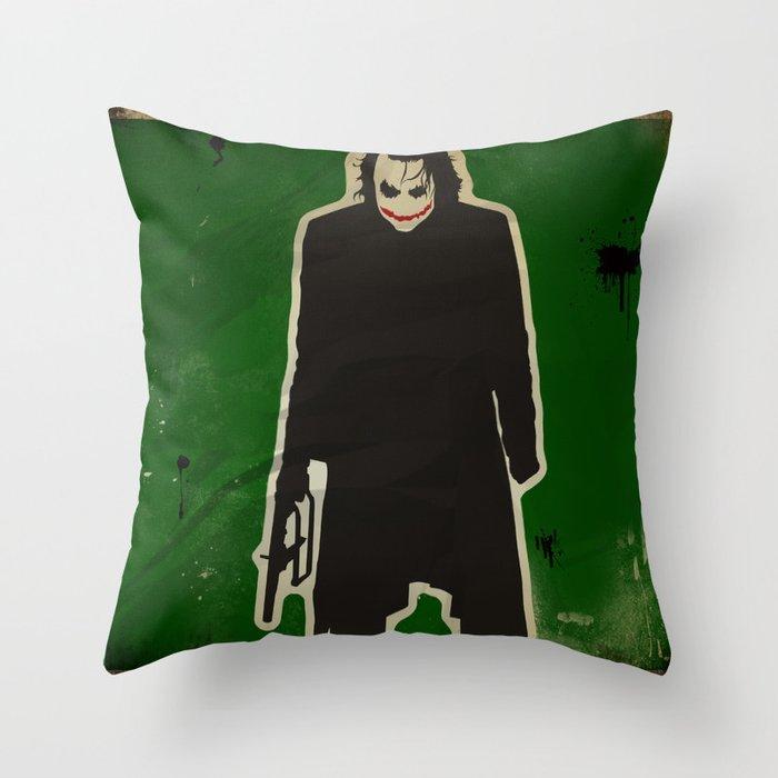 The Dark Knight: Joker Throw Pillow