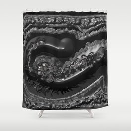 Thе Fossilized Shower Curtain