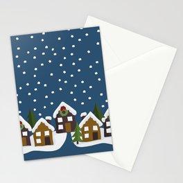 Winter idyll Stationery Cards