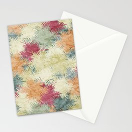 Tropical Fan Palm Paradise – Colorful #02 Stationery Cards