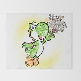 Yoshi Wonderland !  Throw Blanket