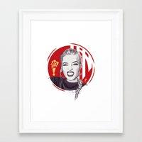 cassandra jean Framed Art Prints featuring Jean by Yasin IŞIK