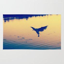 I Love You Seagull Rug