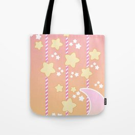 Tutti Fruity Moon Star Tote Bag