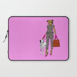 Lady Staffy Laptop Sleeve