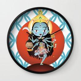Kali Goddess Wall Clock