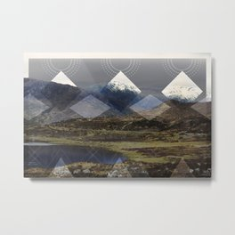 Scottish Highlands Metal Print