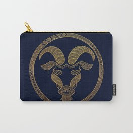 Golden Zodiac Series - Capricorn Carry-All Pouch