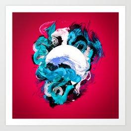 In Circle - II Art Print