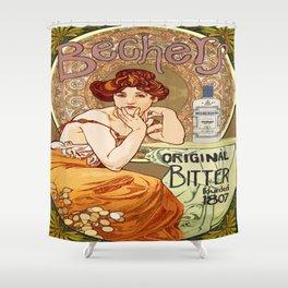 Becher's Original Shower Curtain