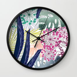 Hot tropics. Wall Clock