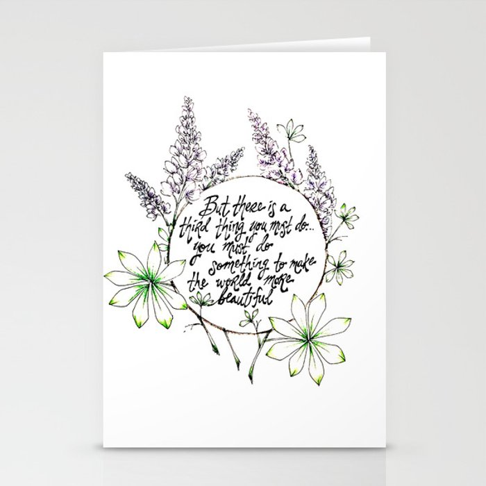 Miss Rumphius Stationery Cards
