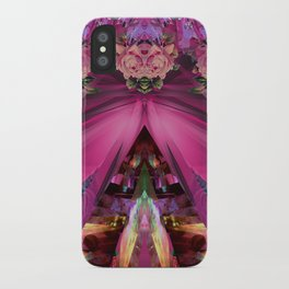 Crystal Blooms iPhone Case