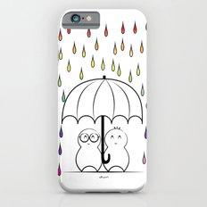 Mimos under Rainbow rain iPhone 6s Slim Case
