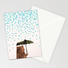 Rain rain go away Stationery Cards