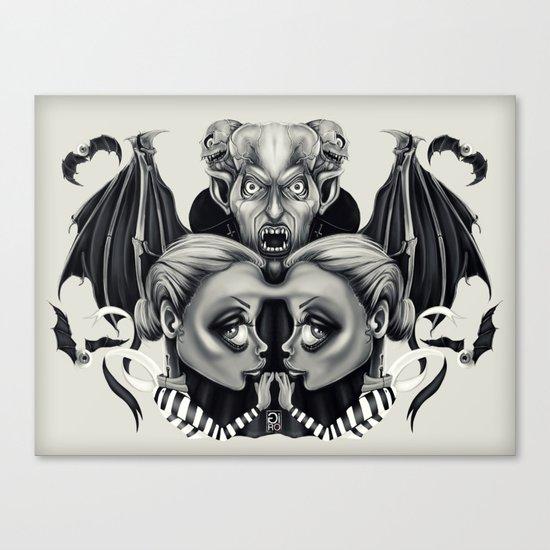 """Tattoeums VII"" Canvas Print"