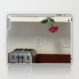 Toaster and Rose hanging out Laptop & iPad Skin