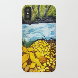 Golden Autumn iPhone Case