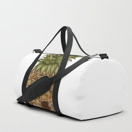Pineapple Skull Duffle Bag