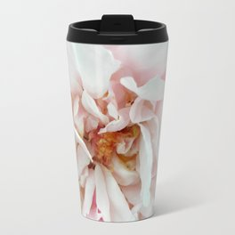 Feathery Rose Travel Mug