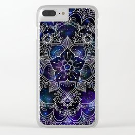 Serene Space Clear iPhone Case