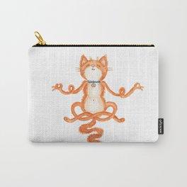 Zen Cat Meditation Carry-All Pouch