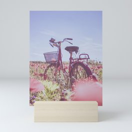 Nature bicycle Mini Art Print