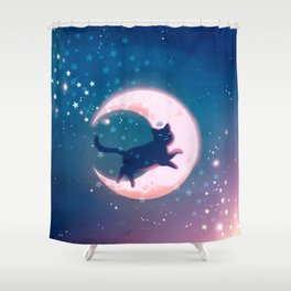 My Gigi Star Shower Curtain