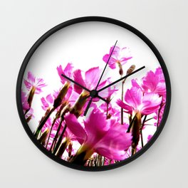 Carthusian Pink Wall Clock