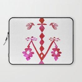 Ethnic Kilim Pattern Tree of Life Laptop Sleeve