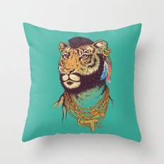 Mr. T(iger) Throw Pillow