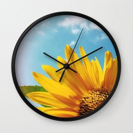 Summer Bliss Wall Clock