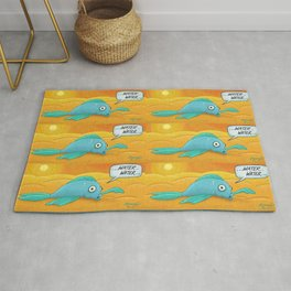 Fish in the Desert! Rug