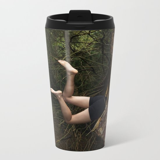 Don't go There, It's a Trap Metal Travel Mug