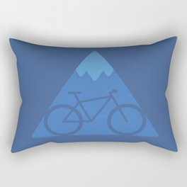 Off The Beaten Track Rectangular Pillow