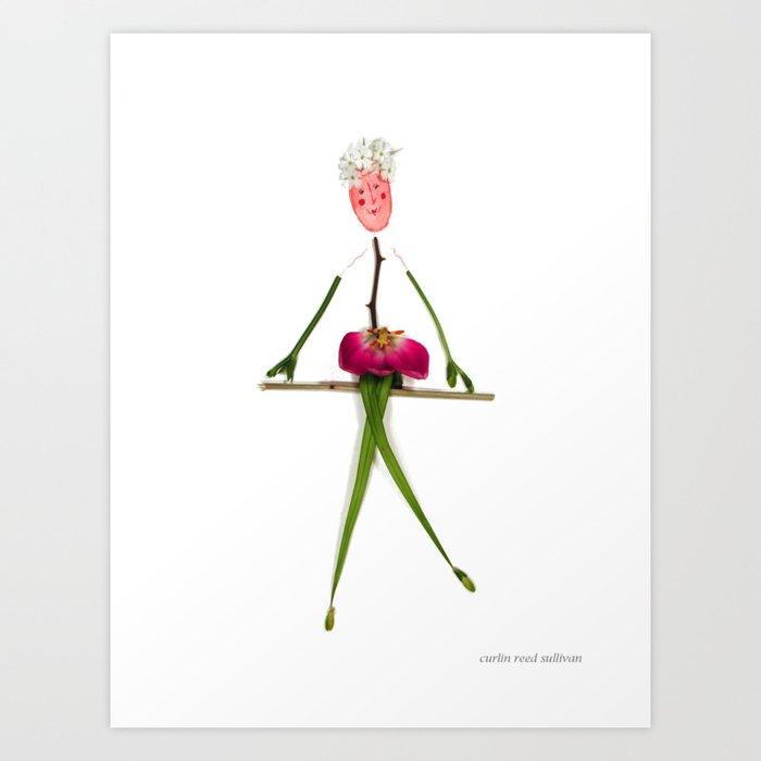Posey Le Cirque Art Print