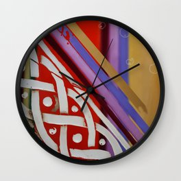 Celtic Knot with Autumn Colors Wall Clock