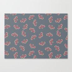 Floral Swarming  Canvas Print
