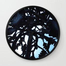 Metal Tree Wall Clock