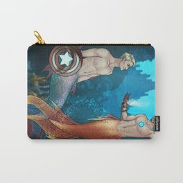 UNDERWATER SUPERHEROES Carry-All Pouch