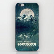 Sawtooths: Stanley Lake iPhone & iPod Skin