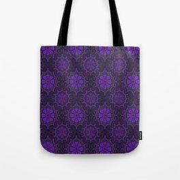 Violet Flower, rustic floral pattern, ultra-violet Tote Bag