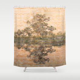 Nepal Peace Shower Curtain
