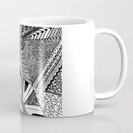 Geometrical abstraction Coffee Mug
