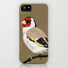 Goldfinch iPhone Case