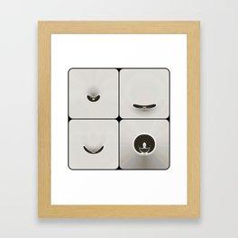 sym3 Framed Art Print