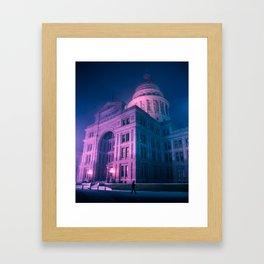 Texas State Capitol Framed Art Print