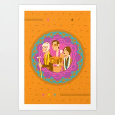 The Darjeerling Limited Art Print