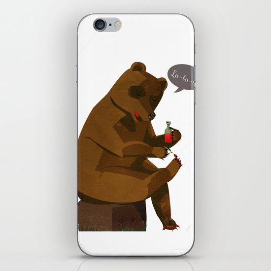 Mrs. Bear iPhone & iPod Skin