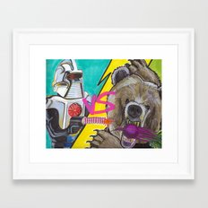 Bears Beets Battlestar Galactica Framed Art Print